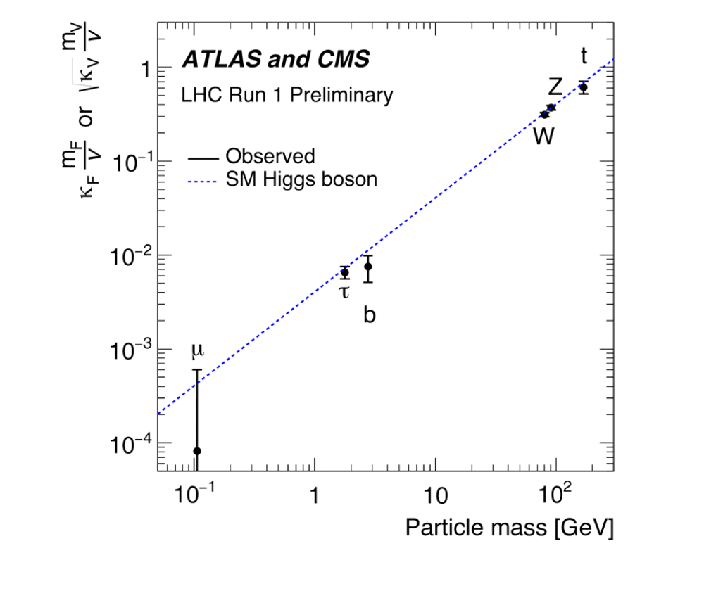 Observation of Higgs boson coupling to other Standard Model particles at CERN